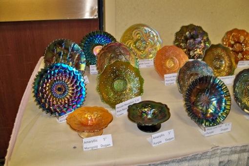 Carnival Glass Plates